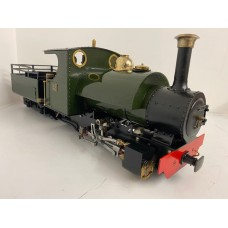 Roundhouse/Freelance 0-4-0 internally meths fired Loco 32/45mm Manual 0502/806
