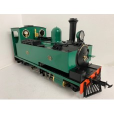Accucraft Hunslet No14 32/45mm as new never steamed or opened 0502/553