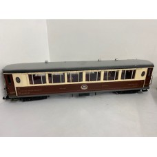 YC1 LGB Unboxed Pullman car fitted with lights P+P £15 per Parcel