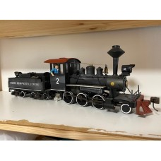 Electric Steam Loco with sound 45mm 0502/SH
