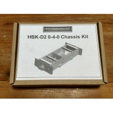 A NEW Roundhouse HBK-D2 0-4-0 Chassis Kit