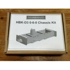 A NEW Roundhouse HBK-D3 0-6-0 Chassis Kit