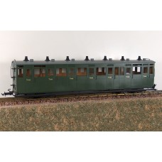 Accucraft R19-19 L&B 3rd Coach in Southern Green