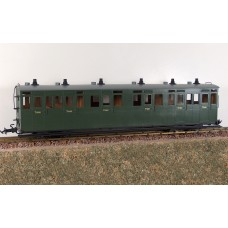 Accucraft R19-21 L&B Composite Coach in Southern Green
