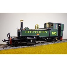 A New Accucraft E19-19E L&B No. 760 'Exe' Electric Manning Wardle 2-6-2T