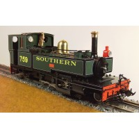 A New Accucraft S19-19Y L&B No. 759 'Yeo' Live Steam Manning Wardle 2-6-2T