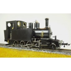 A NEW Accucraft S19-29B WD HUNSLET 4-6-0T Satin Black