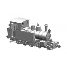 Accucraft S19-29 WD HUNSLET 4-6-0T Satin Black