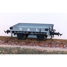 Welshpool & Llanfair 1 Plank wagons