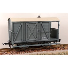Accucraft W&L Brake Van R19-6C W&L Dark Grey Data Only