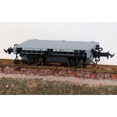 R19-4A – W & L FLAT WAGON W&L LIGHT GREY, #10, #16