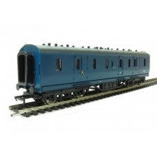 34-328A 50ft Ex-LMS Period 3 Parcels van BR Blue Weathered
