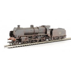 32-154A N class 31404 BR Black late crest weathered