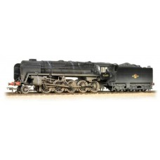 32-858 BR Standard class 9F 92189 BR Black late crest weathered