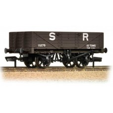 37-067 5 plank wagon wooden floor SR brown