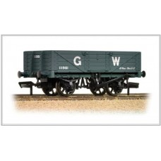 37-068 5 plank wagon wooden floor GWR grey