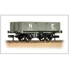 37-069 5 plank wagon wooden floor NE grey