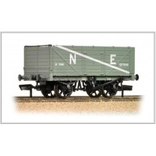 37-089 7 plank end door wagon NE grey