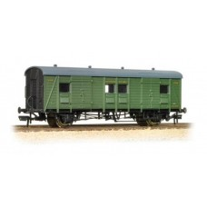 39-525 Southern PLV Passenger luggage van Southern railway Green