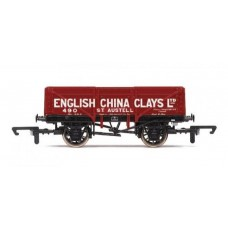 R6666 5 plank wagon English China Clays