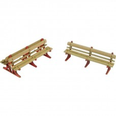 PO502 00/H0 Scale Platform Benches