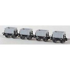 4 cement cars