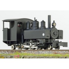 Baldwin 2-6-2 black full cab