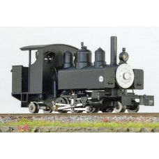 Baldwin 2-6-2 black short cab