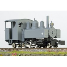 Baldwin 2-6-2 grey full cab