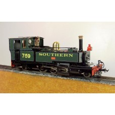 Lynton & Barnstaple 2-6-2T Exe, Taw, Yeo Southern Green PRE ORDER ONLY