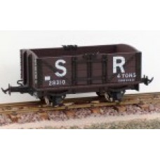 Lynton & Barnstable 4 wheel SR Brown open wagons
