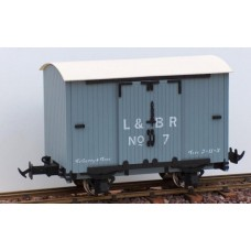 Lynton & Barnstaple 4 wheel vans L&BR Grey