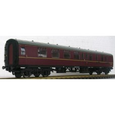 R32-11A BR Mk1 Brake Second Corridor BSK - Maroon