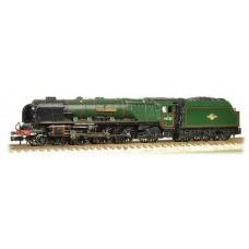 372-181 Princess Coronation Class 46229 Duchess of Hamilton BR Green Early emblem