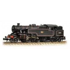 372-752 Fairburn 2-6-4 tank 42073 BR black late crest