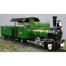 Roundhouse Fowler 0-6-2 Tender Engine