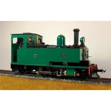 A Ex Display Accucraft Hunslet No 14 Green Manual Unsteamed