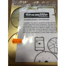 Tenmille Suction Fan Etch requires motor and nuts and bolts to complete